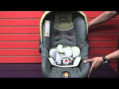 Chicco Keyfit - Adjusting Car Seat Harness Straps