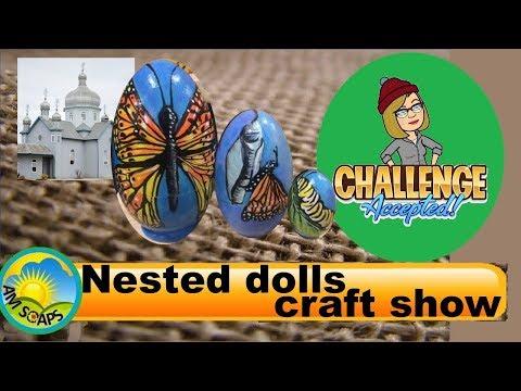 Nested dolls craft show