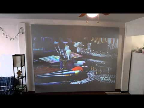 THE BEST AND MOST AFFORDABLE PROJECTOR SCREEN ON THE MARKET!