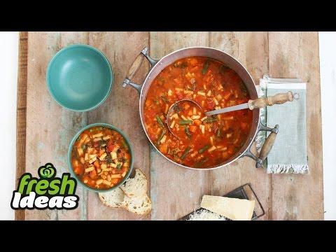 Minestrone Soup - One Pot