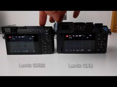Panasonic GX80 / GX85 vs GX8 Shutter Sound Comparison / Test