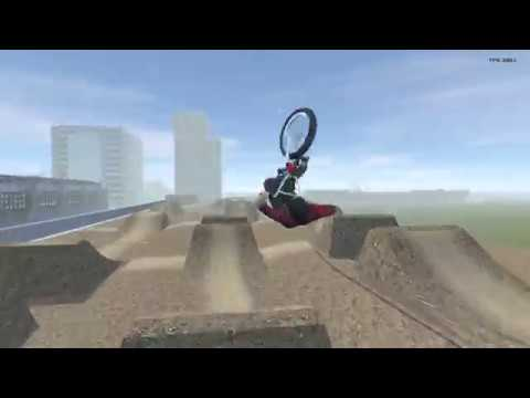 BMX Streets: PIPE - Testing the dirt jumps!