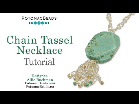 Make a Chain Tassel Necklace