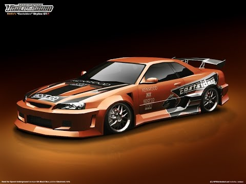 NFSU2 Maxed Performance Nissan Skyline GTR Gameplay