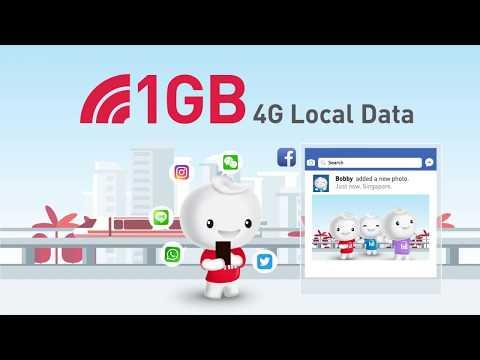 LocalSaver$18 Prepaid Top-up - 1000 Mins Talktime & 1GB Data at $18!