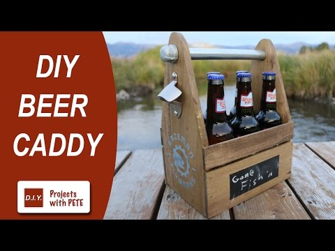 How to Make a Beer Caddy | DIY Six Pack Carrier