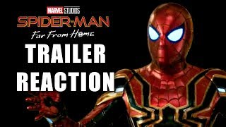 Download SPIDERMAN FAR FROM HOME TRAILER REACTION! Video