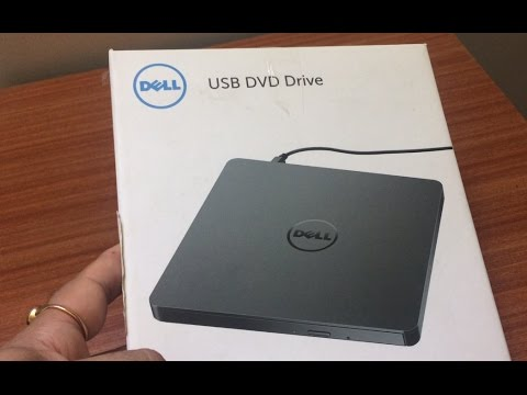 Unboxing Dell External DVD+/-RW Optical Drive DW316