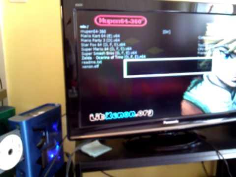 Xbox 360 running N64 emulator