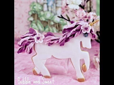 Unicorn Sugar Cookie