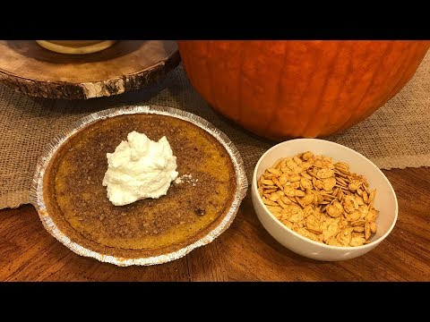 How To Make a {Special} Pumpkin Pie and Roasted Seeds!!! FUN, EASY and DELICIOUS!!!