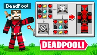 PLAYING as DEADPOOL in Minecraft (Crazy Craft)