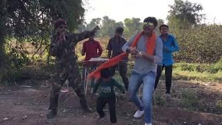 Ghadiyal Na Takore Gaman Santhal song funny dance comedy desi full hd  video 2017