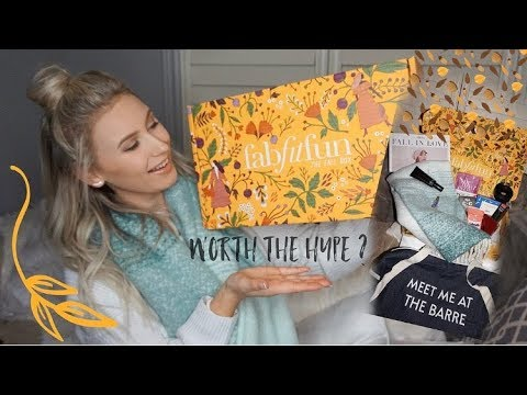 FabFitFun Fall Unboxing & Review | Is it Worth the Hype?