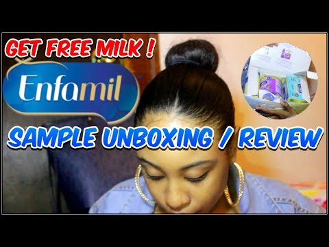 Get FREE BABY MILK ! Enfamil Sample Unboxing / Review !