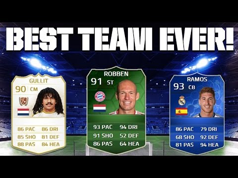 FIFA 14 - BEST TEAM EVER!