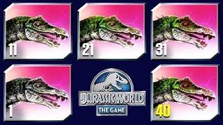 NEW SUPER-HYBRID SPINOTASUCHUS MAX LEVEL 40! - Jurassic