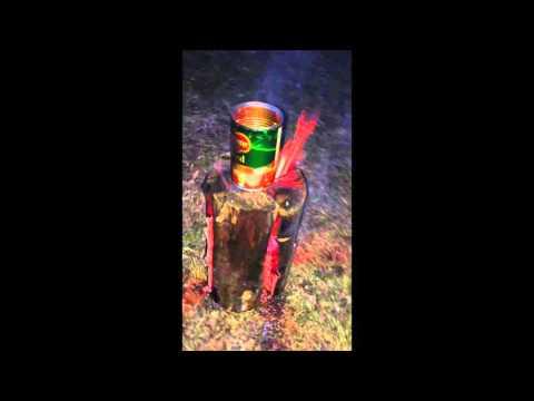 Swedish Fire Torch / Stove