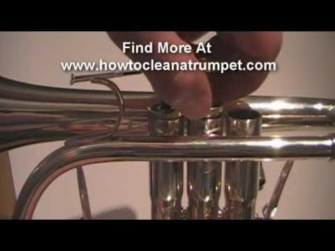 How To Oil Brass Instrument Trumpet Piston Valves