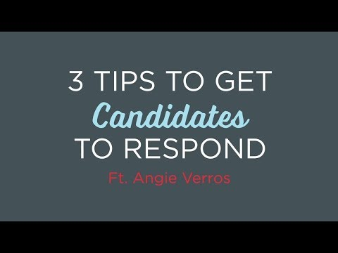 #HRAgainstLame: 3 Tips To Get Candidates To Respond | Episode 14