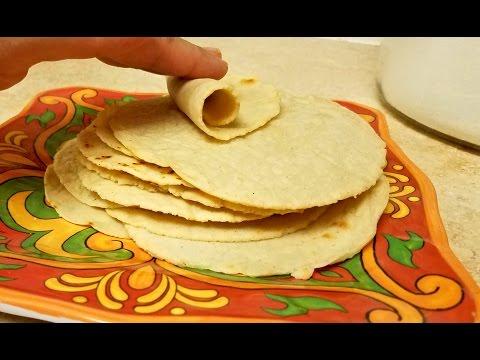 Easy Corn Tortilla Recipe - Small Size Corn Tortillas