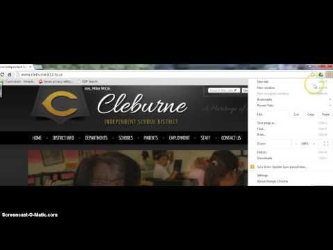 Restoring Bookmarks Bar on Chrome