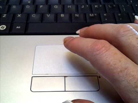 laptop touchpad click