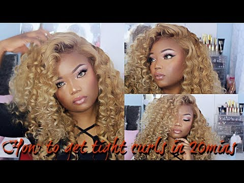 How to make your wig look like Beyonce's wig in 20 mins | Virgo hair