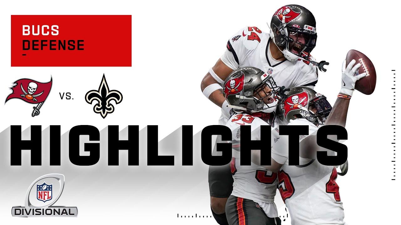 Bucs Defense Loots the Saints w/ 4 Huge Takeaways | NFL 2020 Highlights