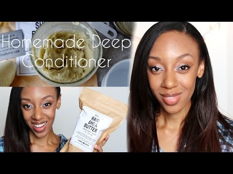 DIY Shea Butter Conditioner & A GIVEAWAY (Closed)
