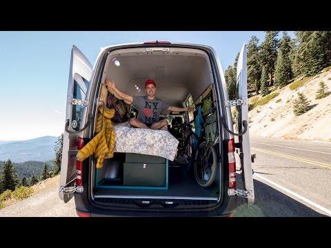 SPRINTER VAN CONVERSION: My DIY Setup For Less Than $1,200