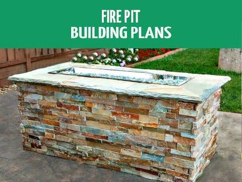 DIY Fire Pit Building Plans
