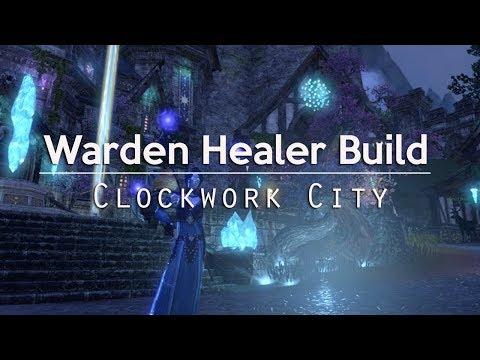 Warden Healer Build for Trials - Clockwork City ESO