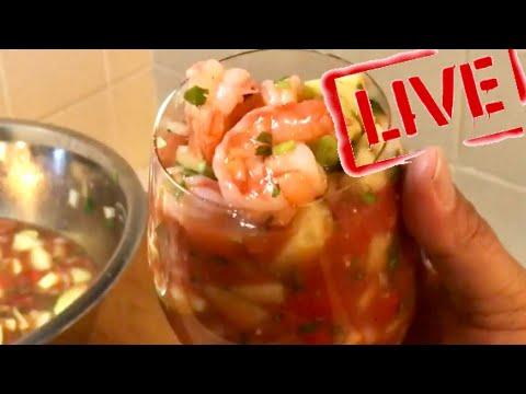 Mixology - Mexican Style Shrimp Cocktail - Shrimp Recipe - Coctel de Camarones Mexicano