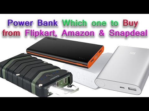 Power Bank Which one to Buy from Flipkart, Amazon & Snapdeal: We Recommend Xiaomi Why??