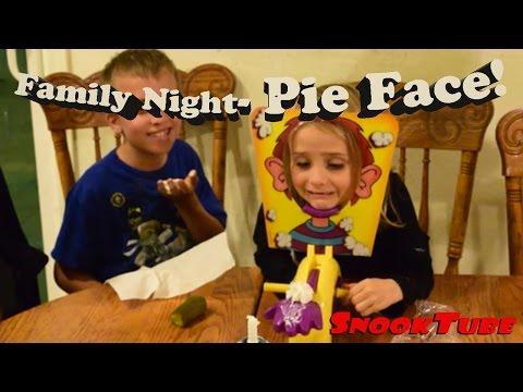 Pie Face! Family Night fun!