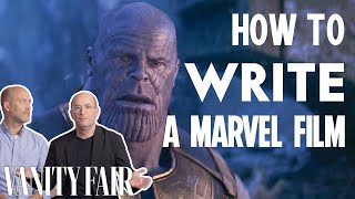 How To Write A Marvel Movie Explained by Marvel Writers | Vanity Fair