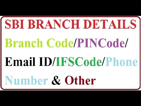 How To Online Easily Find SBI Branches Code/IFSC Code/Full Details & Contact No. हिंदी