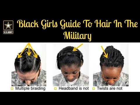 Black Girls Guide To Hair In The Military