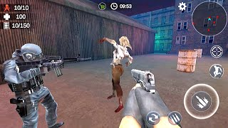 Zombie 3D Gun Shooter- Real Survival Warfare - Android Game Gameplay Part 1