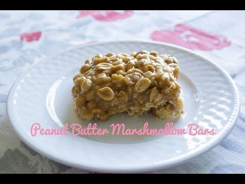 Peanut Butter Marshmallow Bars