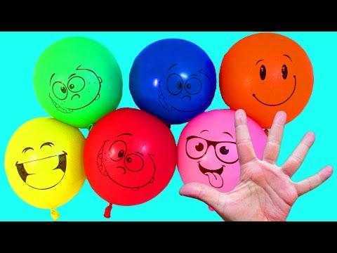 Развивающее видео Для детей Учим цвета Лопаем воздушные Шарики с водой Поем песенку На русском