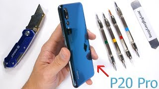 Huawei P20 Pro Durability Test! - Scratch, Burn, BEND TESTED