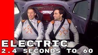 Faraday Future FF 91 Formula E Driver Test Drive