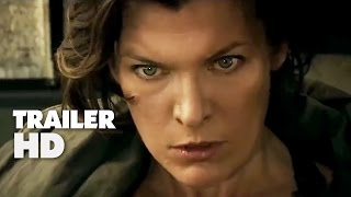 Resident Evil The Final Chapter - Official Film Trailer 2 2017 - Milla Jovovich Movie HD