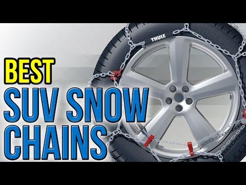 8 Best SUV Snow Chains 2016