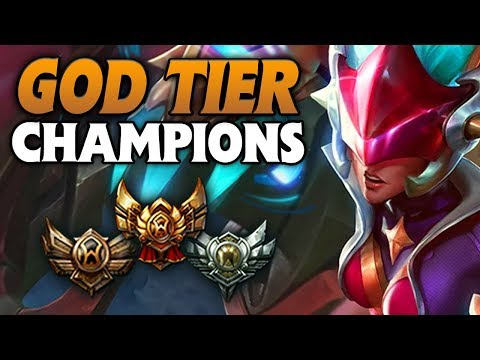 GOD TIER Champions in Bronze/Silver/Gold from PRESEASON - FOR EVERY ROLE (League of Legends)