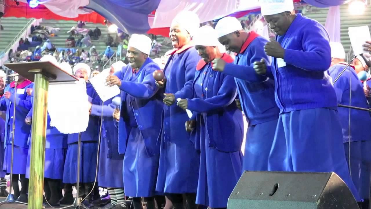 RRW Singing at Rumuko Service