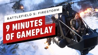9 Minutes of Battlefield 5: Firestorm (Battle Royale) Gameplay