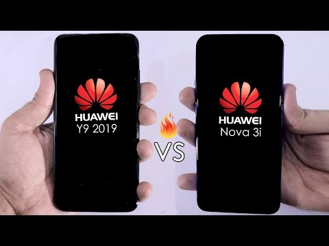 Huawei Y9 2019 Vs Huawei Nova 3i Speed Test Comparison { Urdu/Hindi }